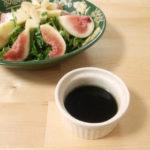 [レシピ] しっかり味のバルサミコ酢ドレッシング