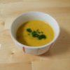 [レシピ] ミキサーなし!濃厚豆乳カボチャスープ