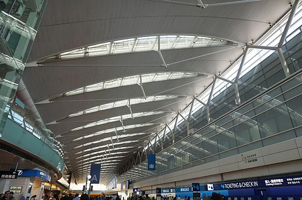 羽田空港国内線第2旅客ターミナル写真