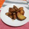 [レシピ] さつまいもと鶏もも肉のバルサミコソース