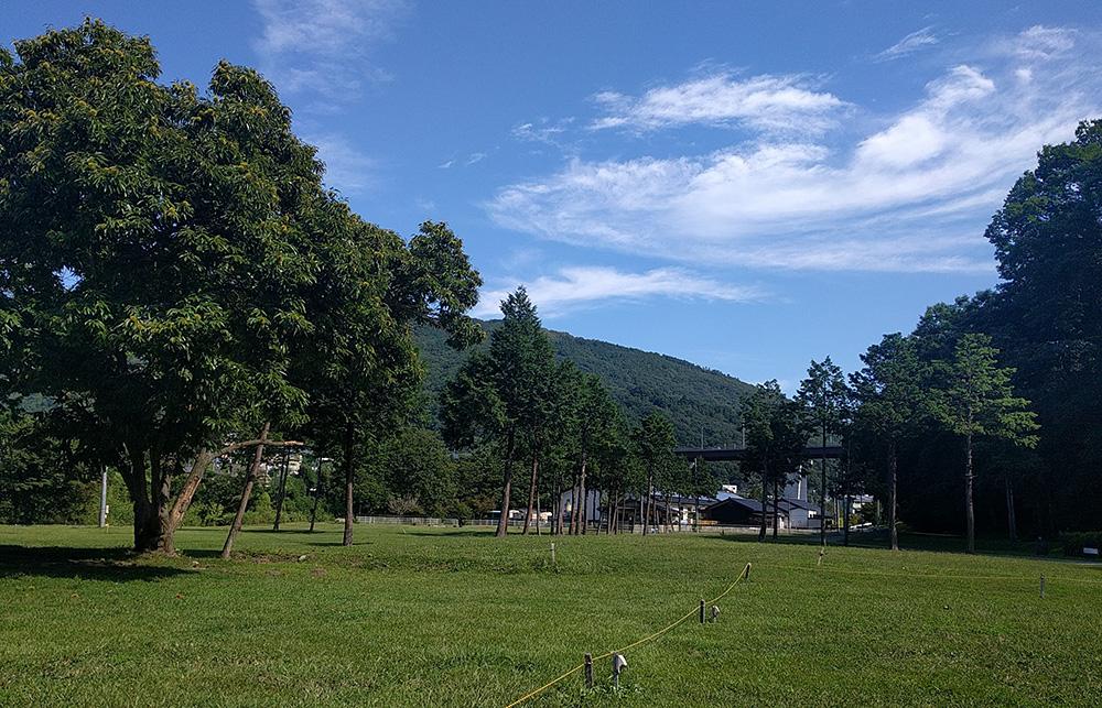 写真:キャンプの風景