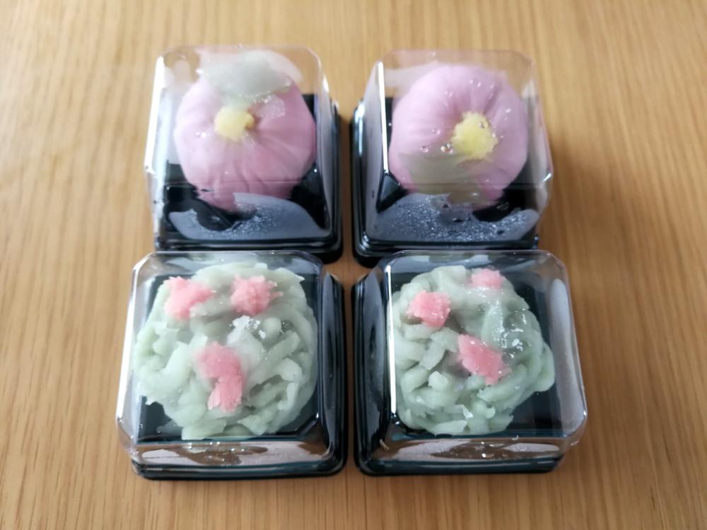写真:頒布会 季節を楽しむ和菓子(5月)