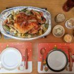[1週間献立]クリスマスに丸鶏を! 2018年12月20日~26日の昼夜ごはん
