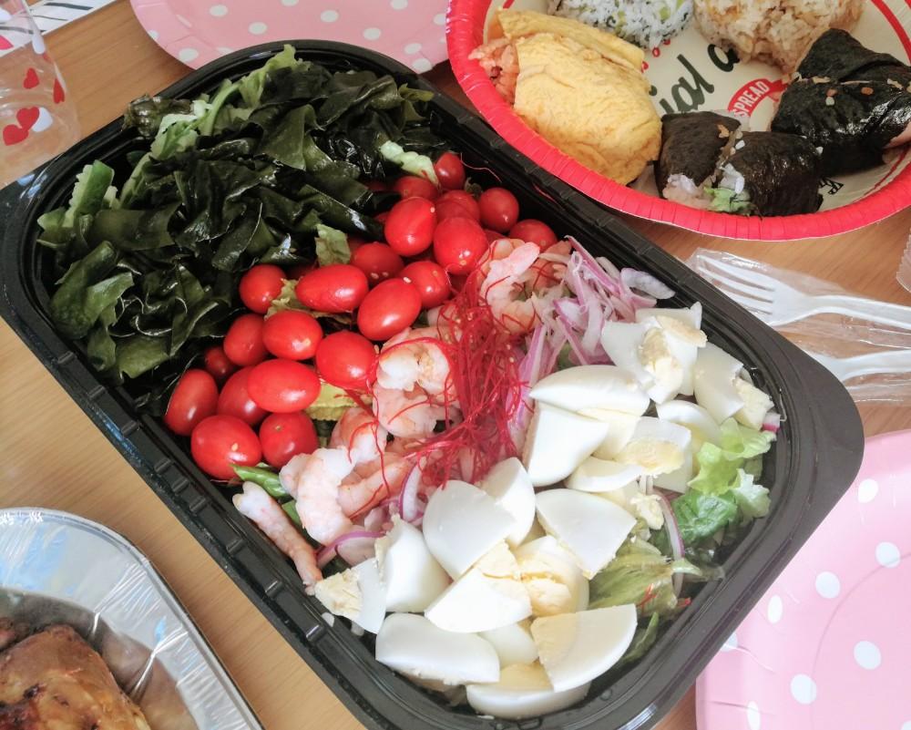 写真:コストコパーティ チョレギサラダ