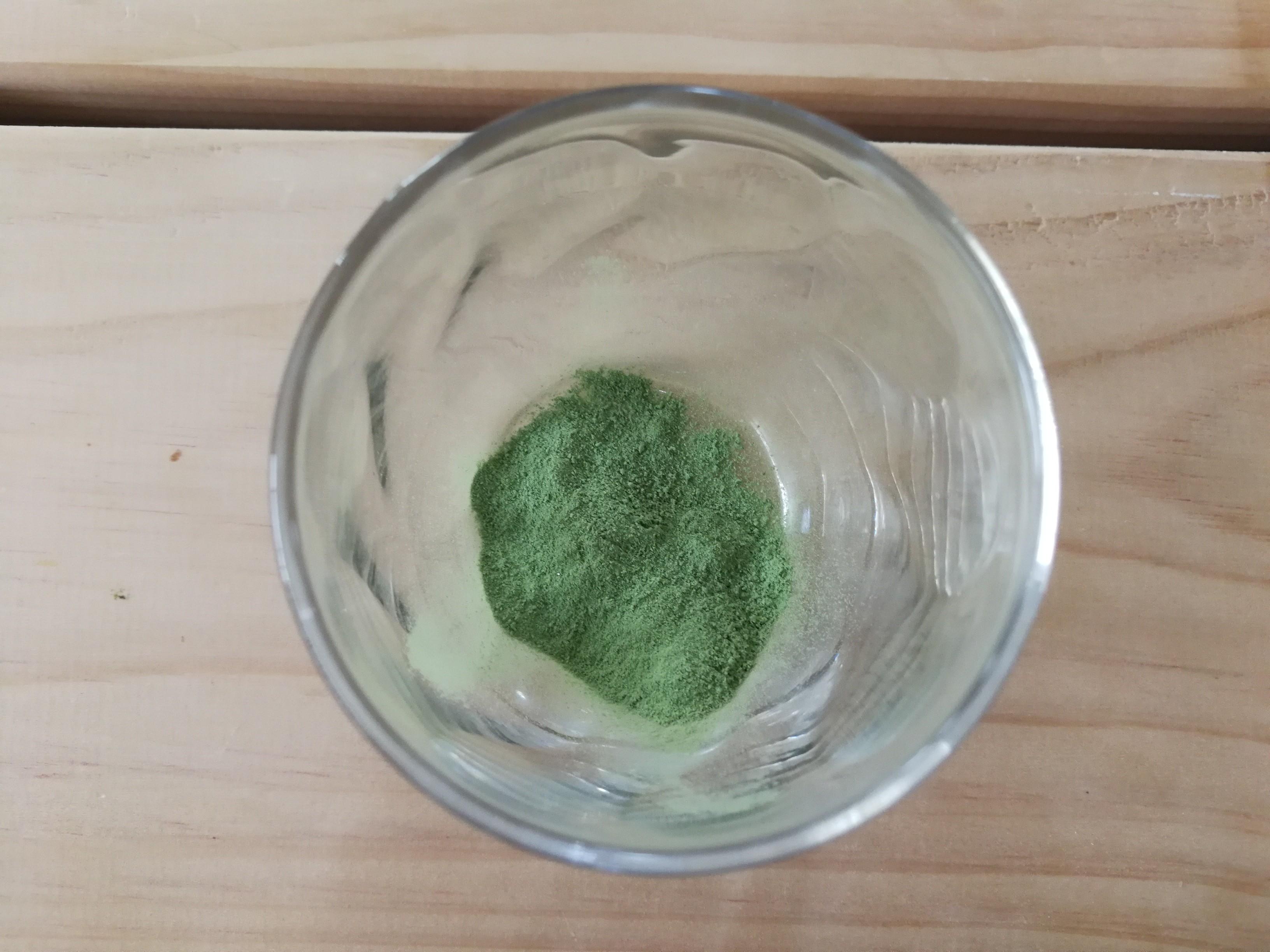 写真:白きくらげ青汁 粉末