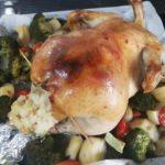 [つくりおきごはん]クリスマスは恒例の丸鶏でローストチキン 12月のつくりおきごはんまとめ 2020年12月1日~31日 1ヵ月のつくりおきごはん・おかず